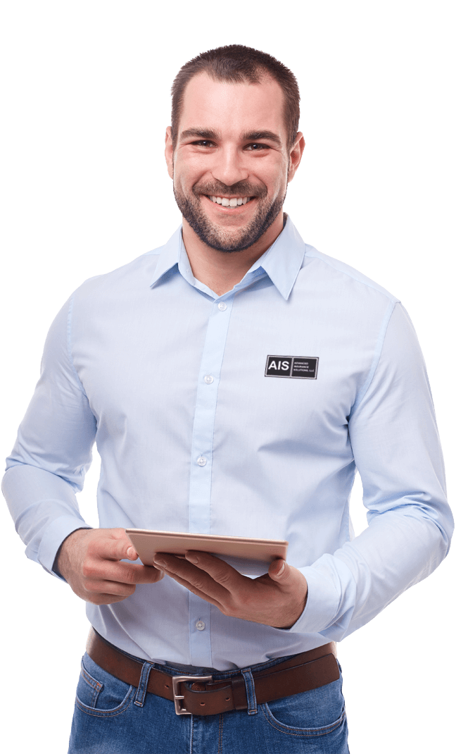 Smiling Insurance Agent